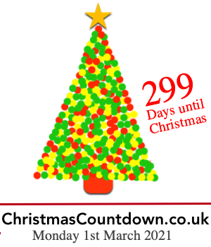 how many weekends until christmas - Countdown Till Christmas Decoration