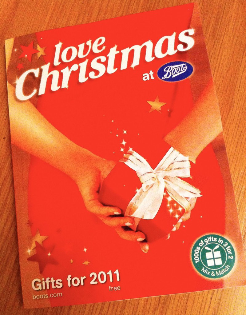 Boots Christmas Catalogue 2011