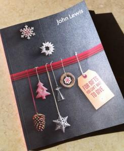 John Lewis Christmas Brochure