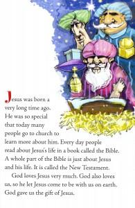 Santa Club Sample Page
