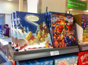 Advent Calendar on sale before we've even had Halloween.