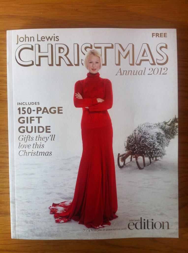 Christmas 2012 John Lewis Catalogue