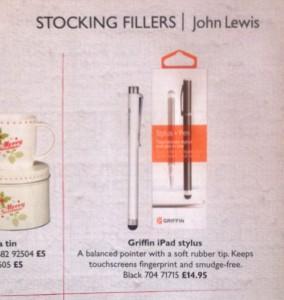 John Lewis Christmas 2012 Annual