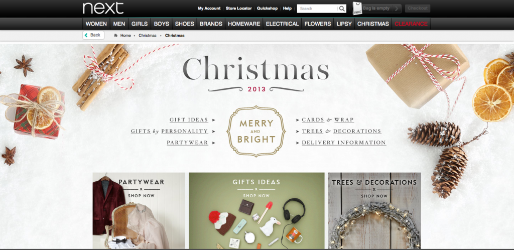 Next Christmas Web Site 2013