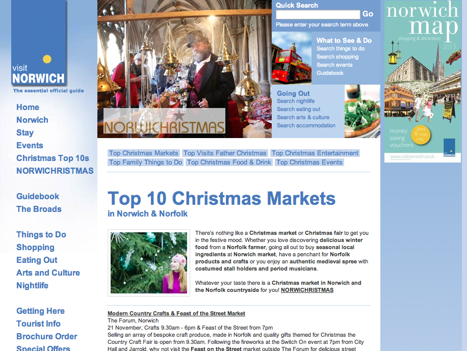 Visit Norwich's Christmas Fairs