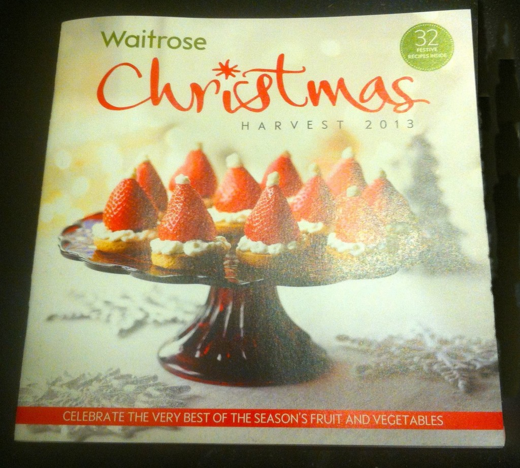 Waitrose Christmas 2013 Harvest Booklet