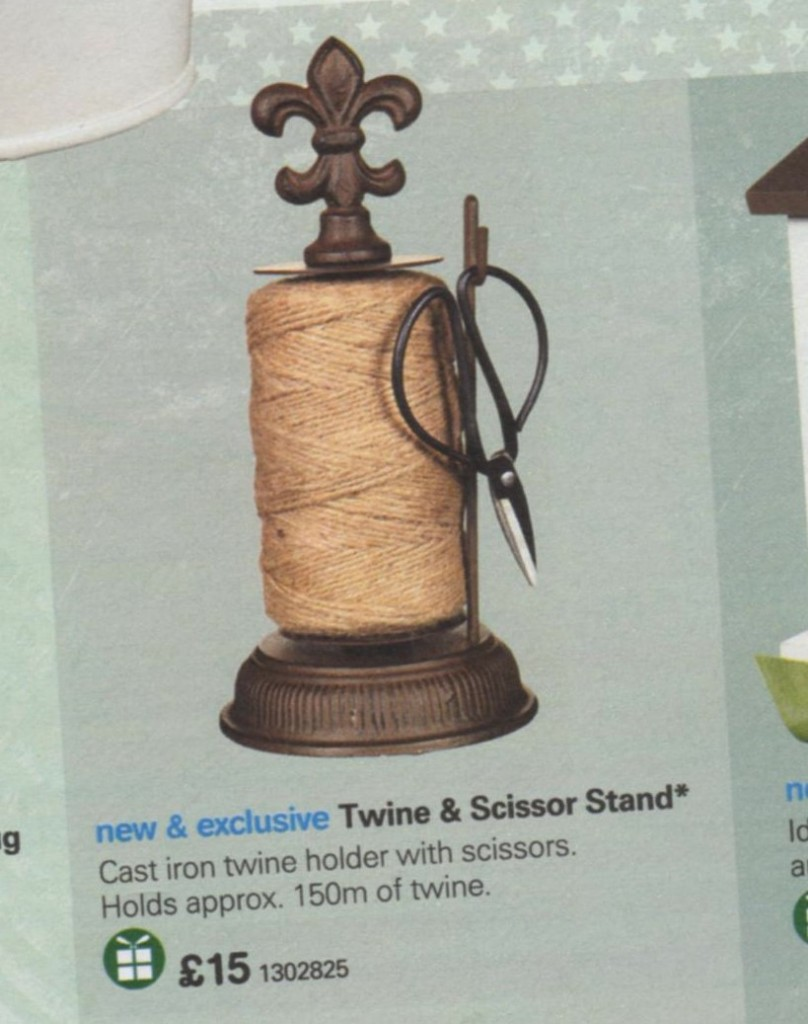 Boots twine and scissors stand
