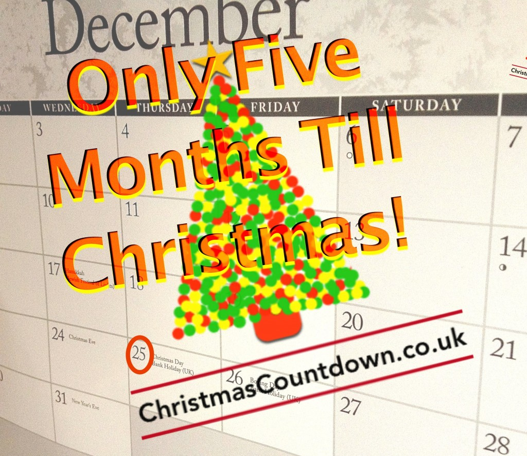 Five Months Until Christmas