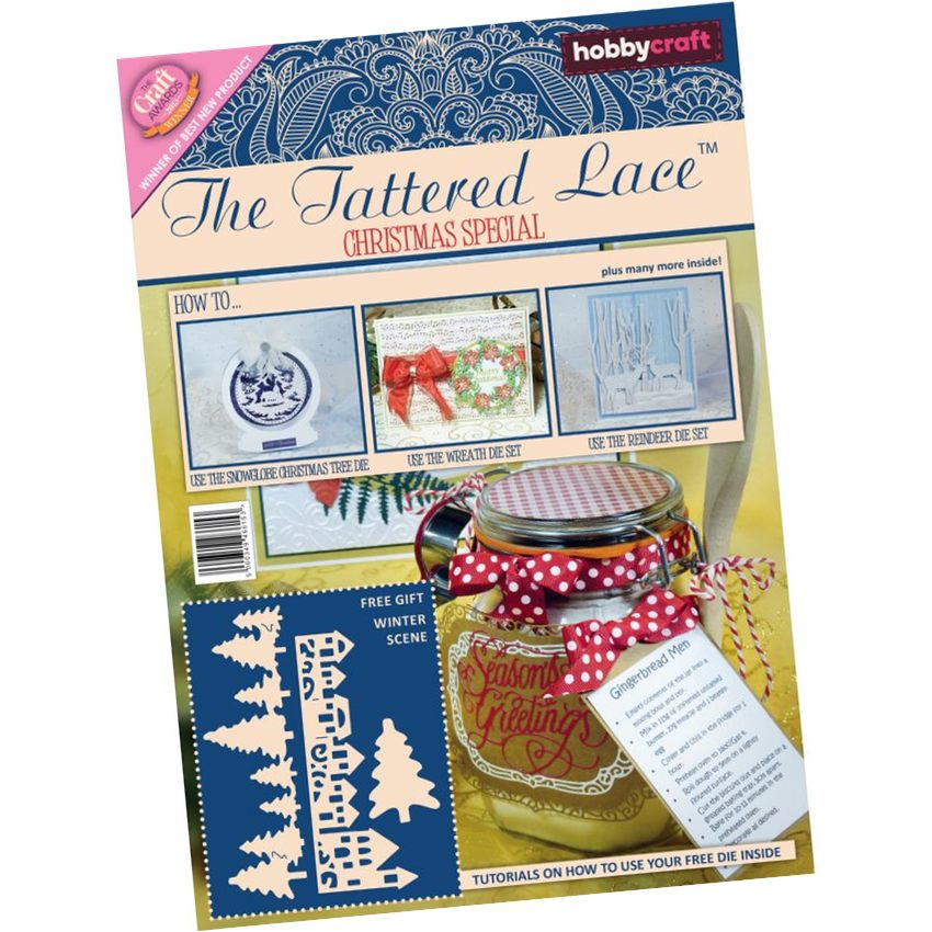 Hobby Craft Tattered Lace Magazine Christmas Special
