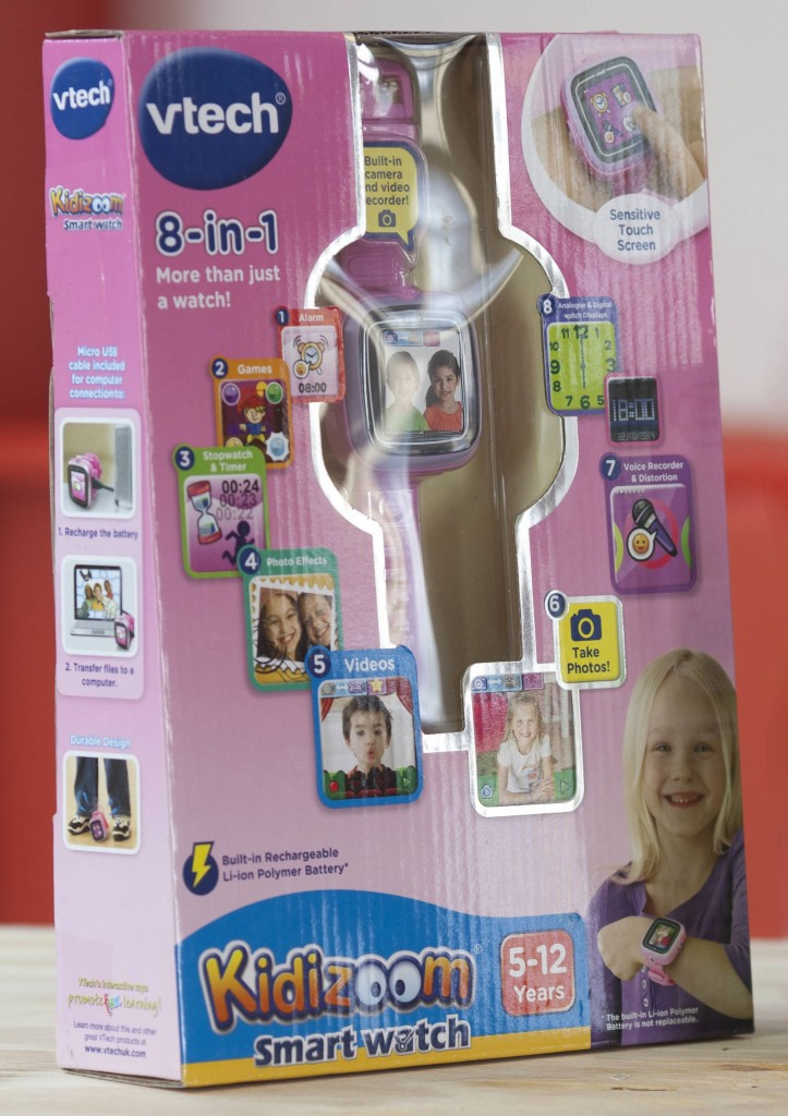 L-R VTech Kiddizoom Watch