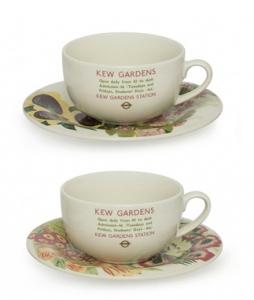 Kew Sunflower Set/2 Tea Cups