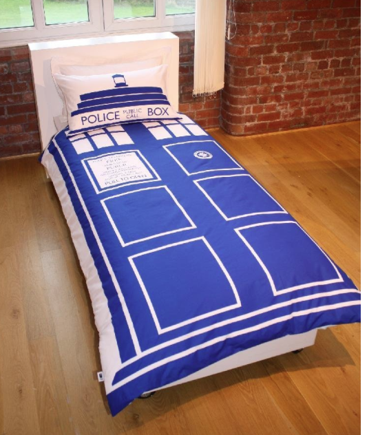 Doctor Who Single Duvet Cover