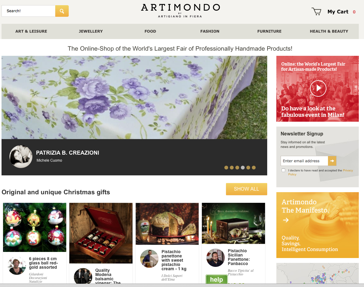 Artimondo.com - True Italian Style Delivered to your door