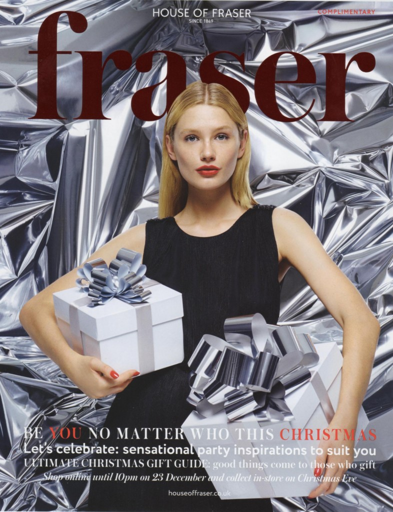 House of Fraser Christmas 2014 Cover Page