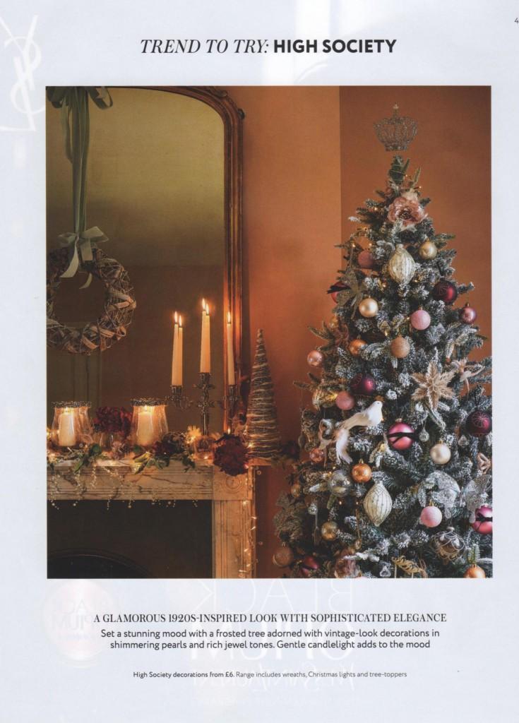 House of Fraser Christmas 2014 High Society Christmas Design