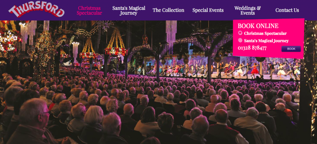 Christmas Spectacular at Thursford