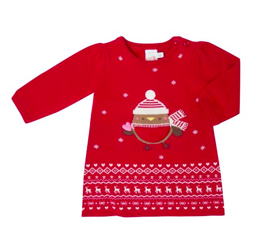 Christmas Baby Dress at Boots