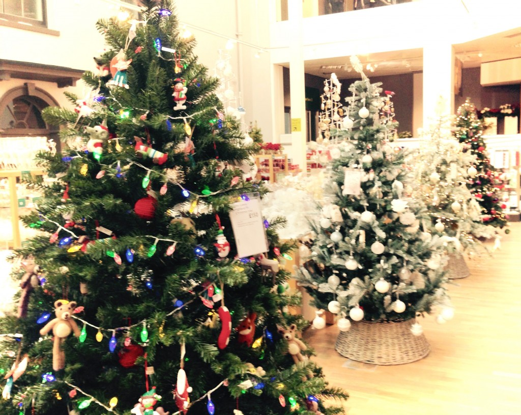 John Lewis Christmas Store Norwich 2015