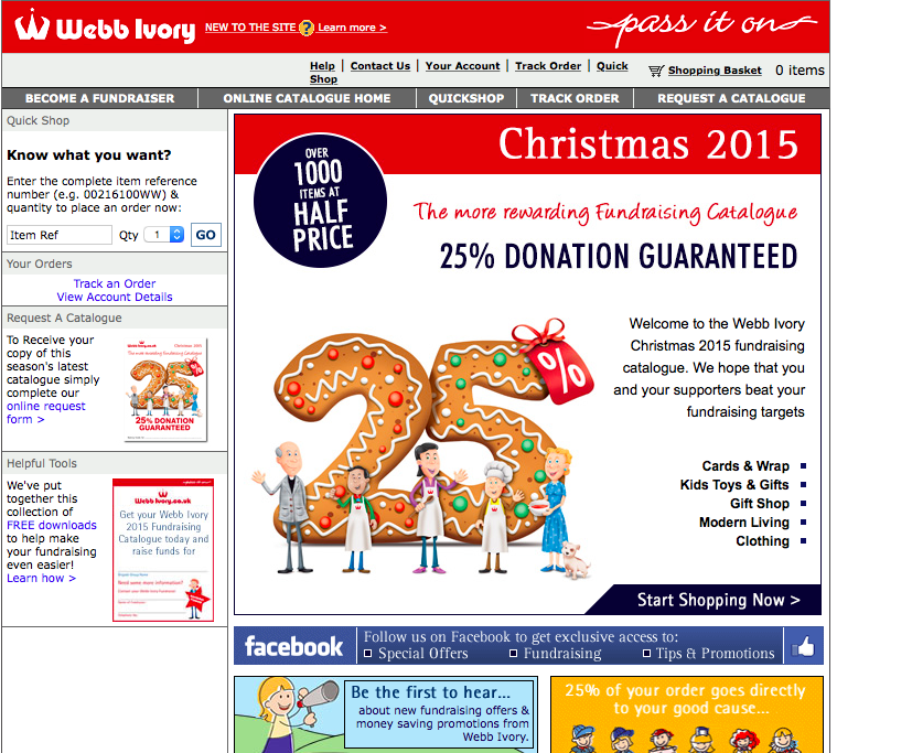 Webb Ivory Website