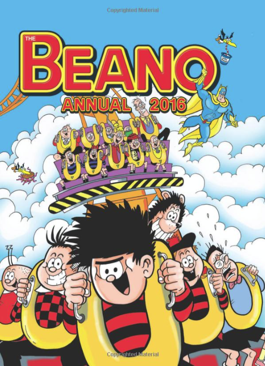 The Beano 2016 Annual makes a great Christmas present for young and old alike.