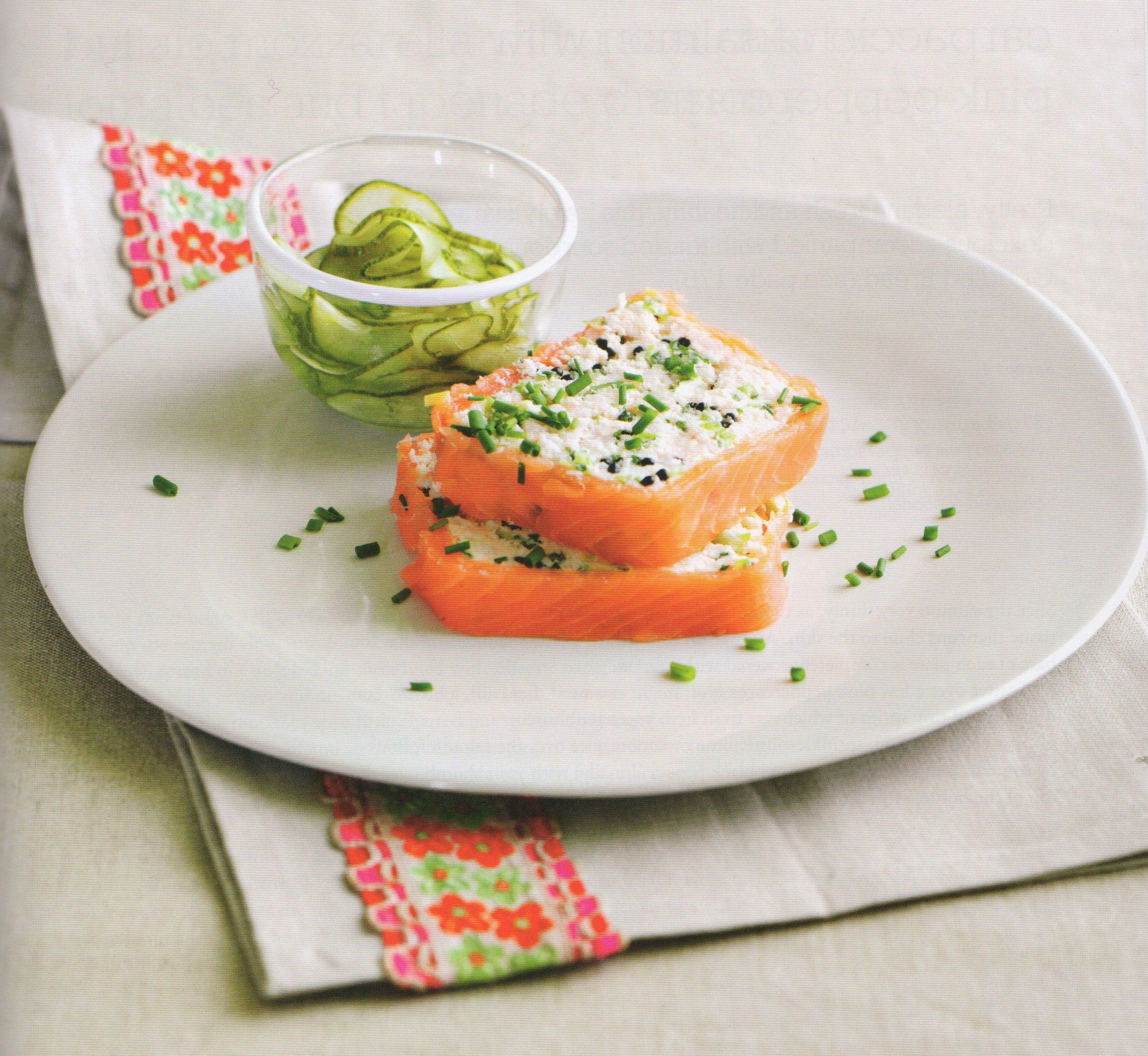Prawn and Smoked Salmon Terrine recipe by Jane Lovett