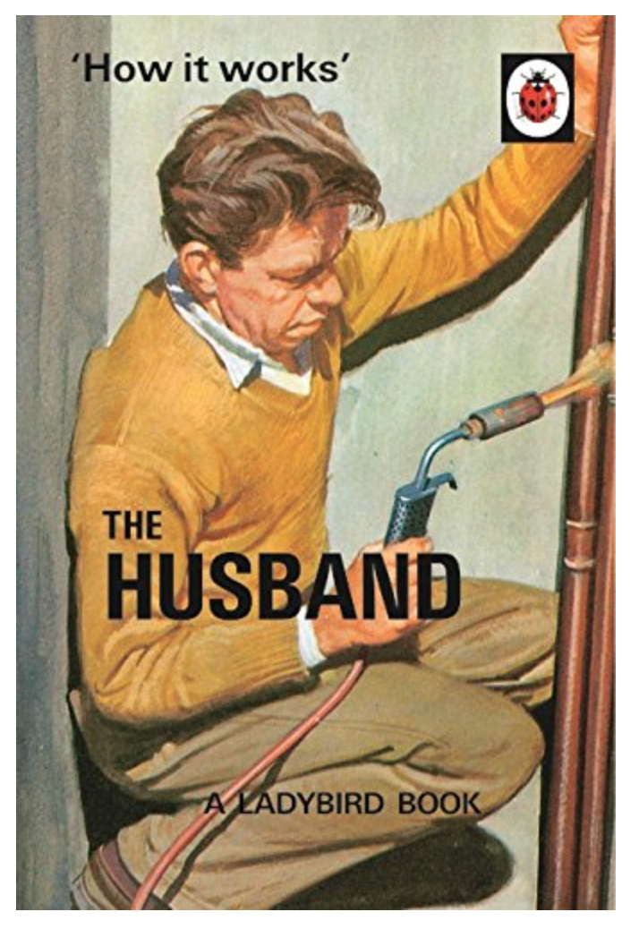 Ladybird books for grown ups, a bestseller this Christmas.
