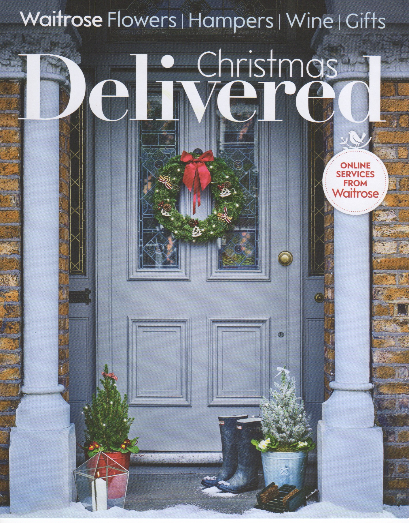 Waitrose waitrose christmas delivered brochure 2015 front cover solutioingenieria