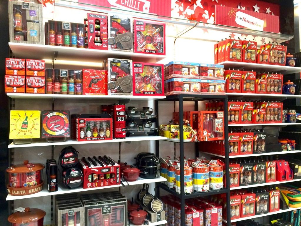 Food and coffee gift ideas at Debenhams in Leeds