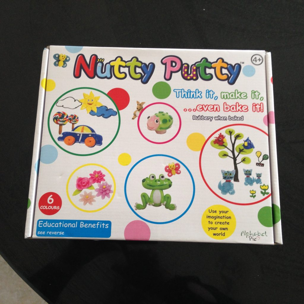 Nutty Putty six colour pack