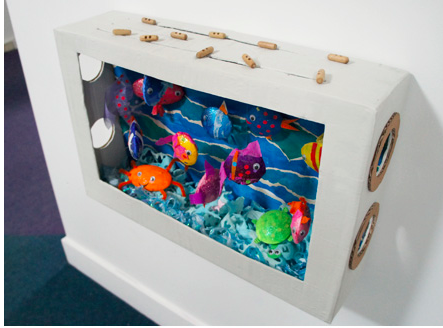 Children's Craft Project - Aquarium