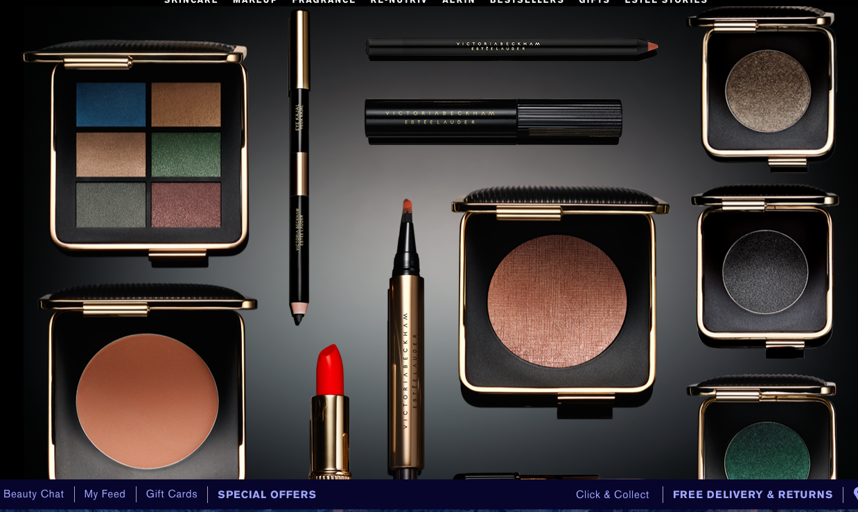 Victoria Beckham Makeup Collection for Estee Lauder