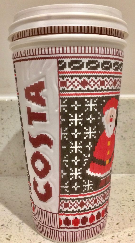 Costa Coffee Christmas Cup 2016