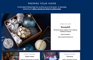 John Lewis Prepare your Christmas Home