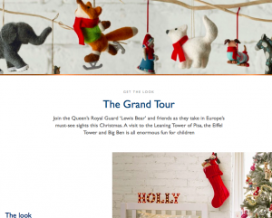 John Lewis The Grand Tour