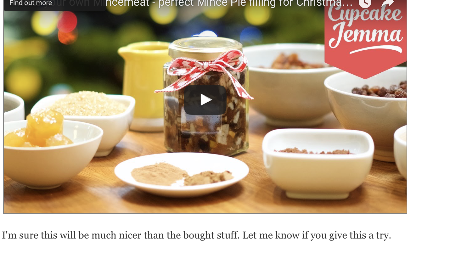 Homemade Mincemeat – perfect Mince Pie filling for Christmas