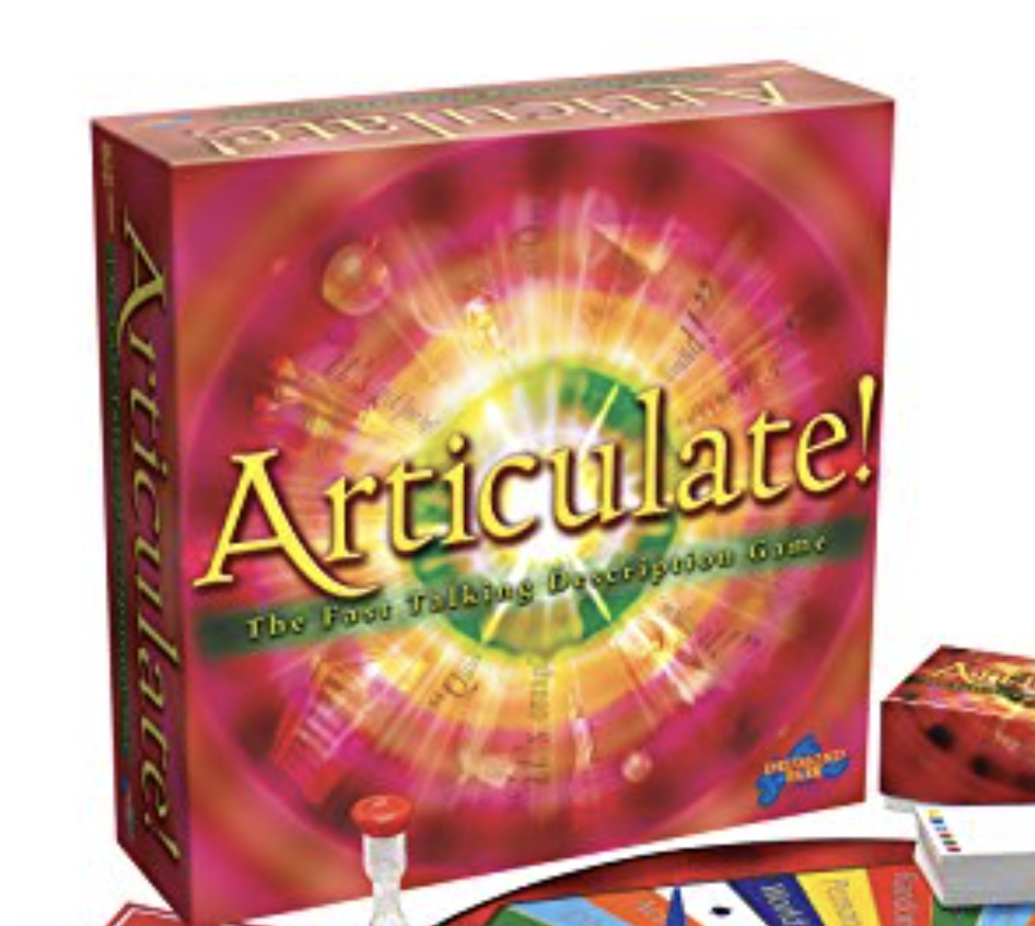 Articulate the board game is a bestseller this Christmas