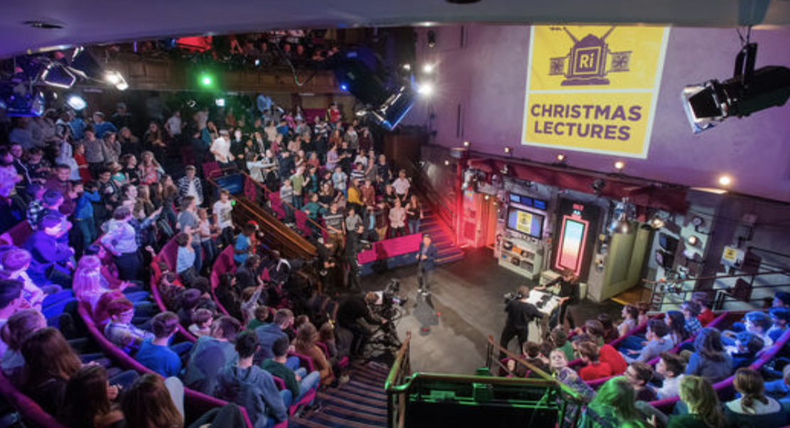 Royal Institution Christmas Lecture 2017