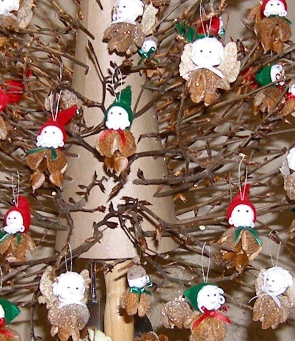 Elves and fairies Christmas tree