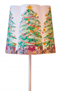 Christmas Tree Paper Shade