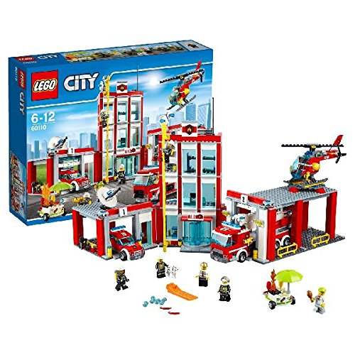 LEGO City Fire 60110: Fire Station  Mixed by null