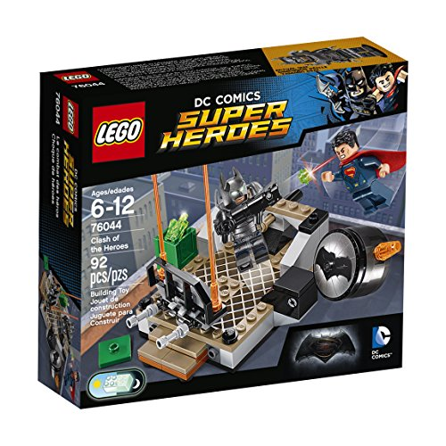 LEGO 76044 Super Heroes Batman v Superman Clash of the Heroes - Multi-Coloured by null