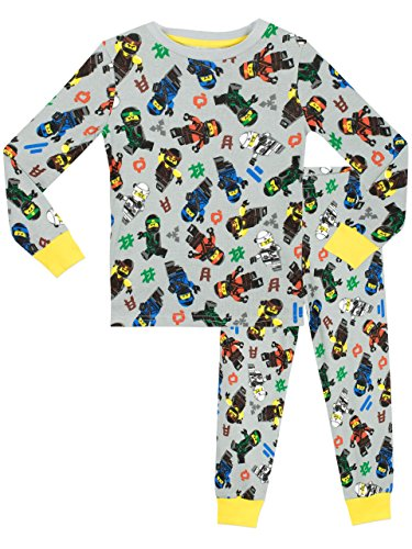 Lego Ninjago Boys Lego Ninjago Pyjamas - Snuggle Fit - Ages 5 to 6 Years by null