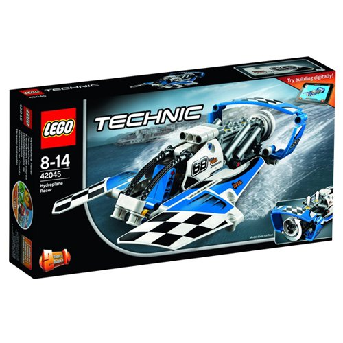 LEGO Technic 42045: Hydroplane Racer  Mixed by null