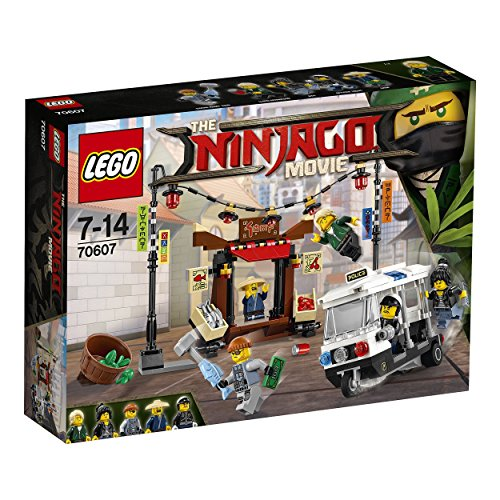 LEGO Ninjago Movie 70607 City Chase Toy by null