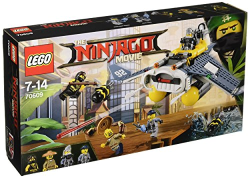 LEGO Ninjago Movie 70609 Manta Ray Bomber Toy by null