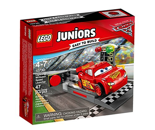 LEGO UK 10730 Cars 3 Lightning McQueen Speed Launcher by null