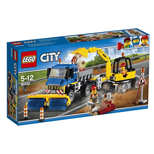 LEGO 60152 Sweeper & Excavator Set by null