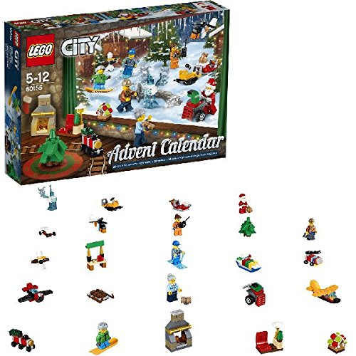 LEGO 60155 City Advent Calendar 2017 Construction Toy by null