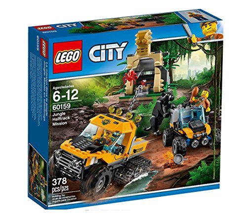 "LEGO UK 60159 ""Jungle Halftrack Mission"" Construction Toy by null"