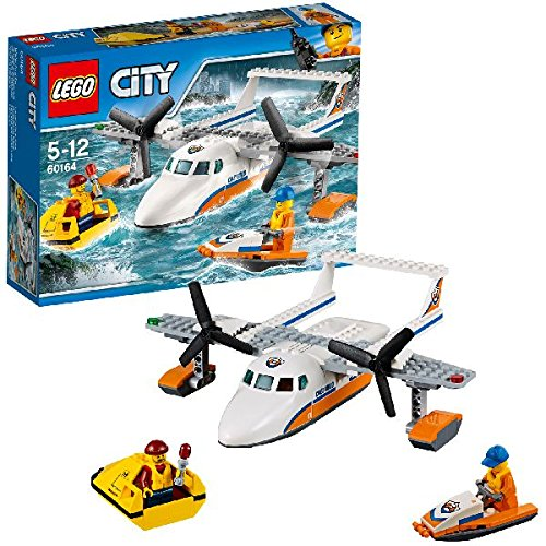 "LEGO UK 60164 ""Sea Rescue Plane"" Construction Toy by null"
